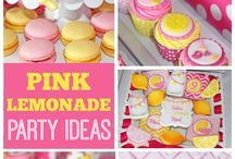 PINK LEMONADE PARTY INSIRATION
