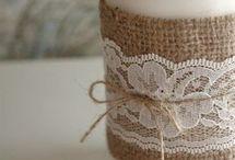wedding candle pins