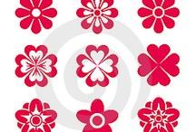virágkörvonalak