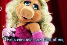 Miss Piggy...
