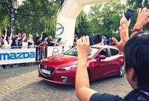 All-New Mazda3 Hiroshima to Frankfurt Challenger Tour 2013 / In an effort to prove the reliability and performance of the All-New Mazda3, Mazda is supplying eight of its new compact hatchbacks for a 15,000km drive direct from the factory in Hiroshima to the 2013 International Motor Show (IAA) in Frankfurt.