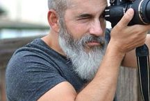 Бороды, прически, стиль
