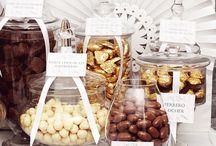 Brown & Gold.Candy Buffet
