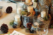 Christmas Table Centres / So many options to compliment your Christmas dinner with all the trimmings!