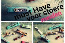 stoere haarspeldjes voor kleine en grote meiden / hier kun je handgemaakte uniek speldjes vinden van www.hipenhaar.nl