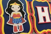 Superhéroes party