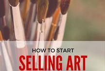 selling art