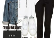 white sneakers outfits