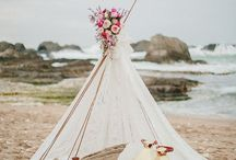 Il matrimonio boho chic/ Boho cic wedding / Dettagli decorativi per organizzare nozze dallo stile boho chic/ Boho chic wedding ideas