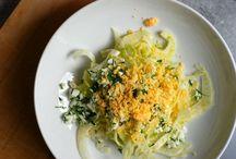Vegetarian (meatless) salads