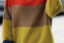 Streifen und Colorblocking