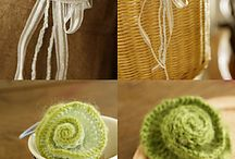 Knitting / crocheting