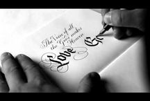 lettering / calligraphy