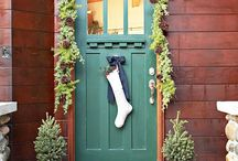 Holiday Doors / Festive Doors for the Holidays