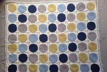 Retro circles Blanket