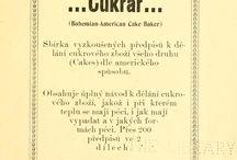 kuchárske knihy (cookbooks)