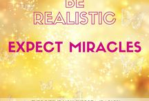 Miracle Quotes / Inspiring quotes about miracles