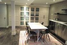 Multifunctional basement renovation
