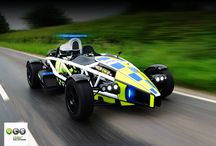 Ariel Atom 2014 / Want to see the new Ariel Atom 3.5R Model which we templated for the Avon & Sommerset police? This is the board for you... There are also many other pictures of Ariel Atoms which we did not do too but ours have the VLS logo on them.
