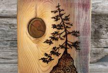 Dřevo obrazy