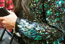 sequined...
