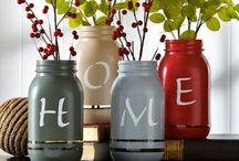 Diy Botellas y Tarros / ideas Diy para decorar, ahorrar y reciclar con botellas y tarros