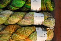 Knitting / Di lavori a maglia e... Idee