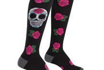 Socks for Goths / Dark hearts beat strong for the goth, poe-etic socks in this collection.