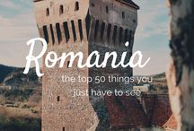 Romania / A board with content related to travelling in Romania.  #ireland #travel #europe #inspiration #travelinspiration