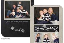 Chalkboard Theme Holiday Cards