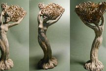 Sculpture-Illustrations / Fantasy ,Mythology,Nude Sculpture