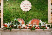 Гранатовая свадьба / Гранатовая свадьба в эко стиле