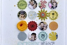 Scrapbooking > Circles & Squares & Hexagons / by Tracie Alger