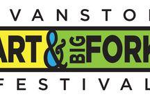 Evanston Art & Big Fork Festival / Evanston Art & Big Fork Festival Evanston, Illinois | Sep 30 – Oct.  2, 2016