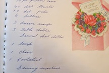 Hope Chest list / What would my ultimate hope chest contain? www.taffetadreams.com  A blog about hope chest ideas.