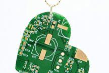 Diy geek jewellery