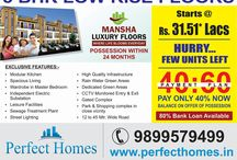 Mansha Luxury Floors / Mansha Luxury Floors  Location : GIP, Sector-72, Greater Faridabad  3 BHK LOW RISE INDEPENDENT LUXURY FLOORS  BOOKING OPEN | PRICE STARTING FROM RS. 31.51* LAKH  POSSESSION WITHIN 24 MONTHS  |  80% Bank Loan Available  Call : +91-9899579499  www.perfecthomes.in  Office : Near Aravali International School, Sector 81, Faridabad
