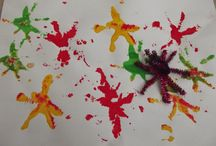Fireworks painting activities