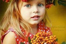 осень дети