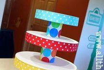 cupcake tower diy