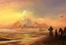 Hobbit Art (#2 of 5 boards) / by Lin Car