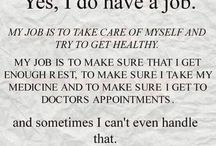 I have Lupus and Multiple sclerosis and fibromyalgia deal with it I do
