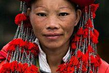 Vietnam, Laos, Thailand.