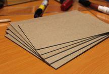 Cartón Kraft Sólido / Láminas de cartón Craft rígido