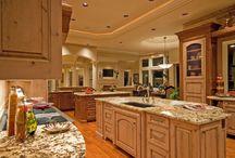 Modern oak kitchen