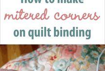Quilt bindings