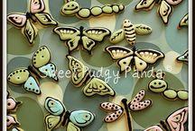 Mariposas y libelulas