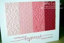 Cards embossing