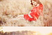 Těhotenské foto inspirace
