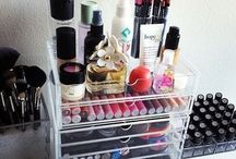 Beauty Storage / About keeping it all together!